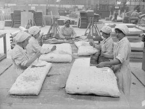 Usine de matelas - Les origines du matelas