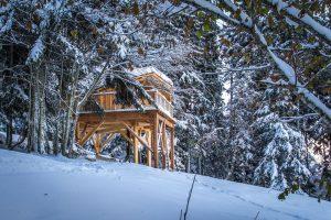 Cabanes chartreuse - Les nuits insolites d'hiver