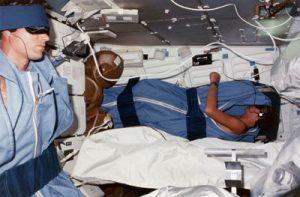 Installation sommeil - Comment dort-on dans l'espace ?