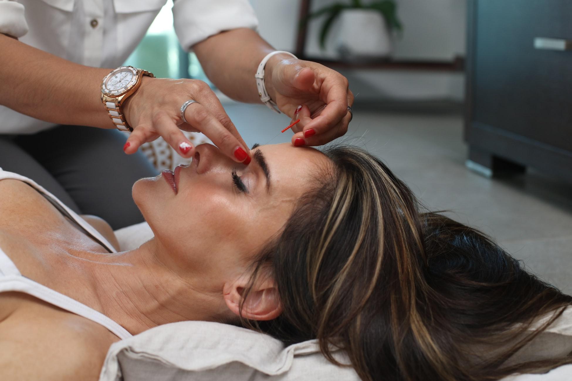 L'auto-massage du visage