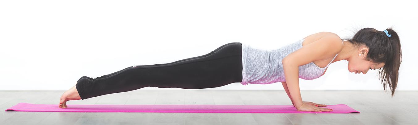 Garder la forme : exercices de sport à la maison